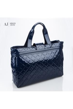Armani Jeans Çanta B5230v45x Armani Shopping Bag Blu - Blue