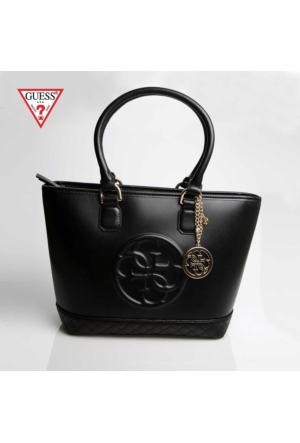 Guess Çanta Hwamy1 L5265 Guess Amy Small Tote Black