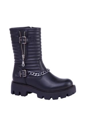 Slazenger Utende Bot Kadın Ayakkabı Siyah