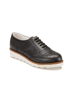Butigo S1112 Siyah Kadın Maskulen Ayakkabı