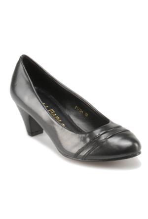 Errica Pablo F17134 Siyah Kadın Klasik Ayakkabı
