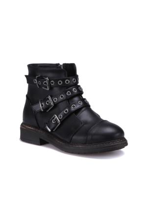 Kinetix A1306705 Siyah Kadın Çizme