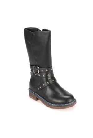 Pink Step A3310391 Siyah Kız Çocuk Çizme