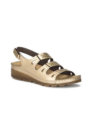 Polaris 71.157357.Z Altın Kadın Sandalet