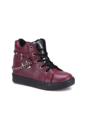 Seventeen Pp440 Bordo Kız Çocuk Sneaker