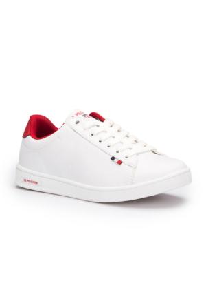 U.S. Polo Assn. Franco Beyaz Kadın Sneaker