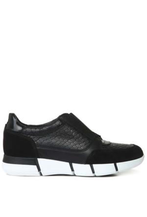 Nine West Nwgagel Siyah Gerçek Deri Ayakkabı