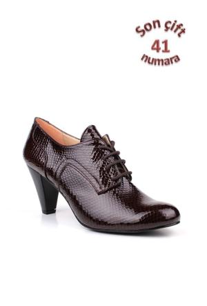 Loggalin 375118 031 264 Kadın Kahverengi Günlük Ayakkabı