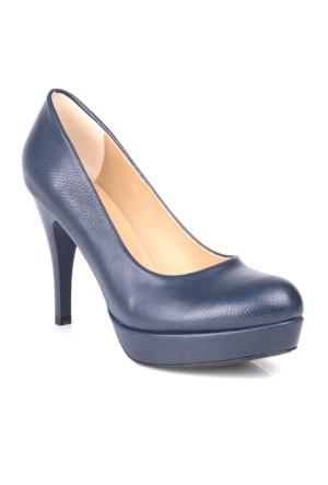 Loggalin 580501 031 418 Kadın Lacivert Platform Ayakkabı
