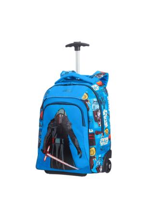 American Tourister New Wonder-Tekerlekli 48 Cm Okul Çantası Star Wars Mavi 4893
