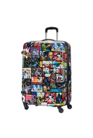 American Tourister Star Wars Comics Dört Tekerlekli Büyük Boy 75 Cm Valiz 6167
