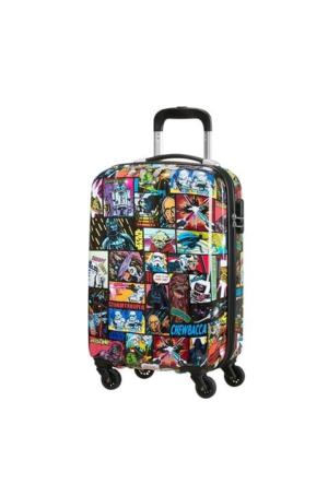 American Tourister Star Wars Comics Dört Tekerlekli Kabin Boy 55 Cm Valiz 6165