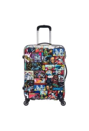 American Tourister Star Wars Comics Dört Tekerlekli Orta Boy 65 Cm Valiz 6166
