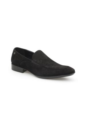 Pedro Camino Erkek Klasik Ayakkabı 71740 Siyah Süet