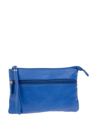 David Jones Kadın Clutch Çanta Mavi