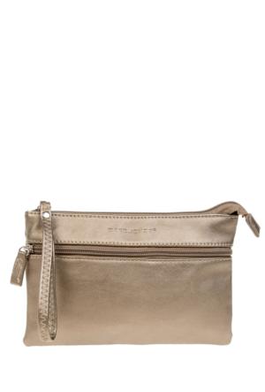 David Jones Kadın Clutch Çanta Gümüş