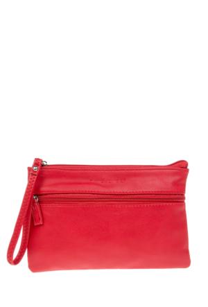 David Jones Kadın Clutch Çanta Kırmızı