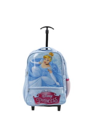 Soo be Disney Princess Kız Çocuk Çekçekli Çanta Mavi