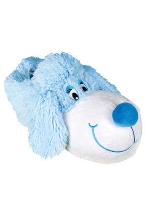 Twigy J0572 Zaya Koca Burun Mavi Kadın Panduf