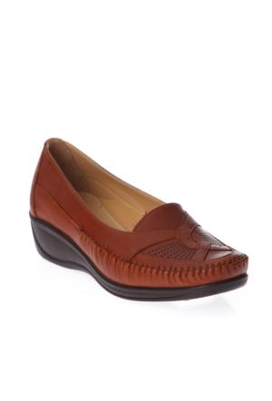 Esem 118 Günlük Giyim Kadın Ayakkabı Taba