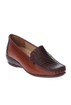 Esem EK113 Günlük Giyim Kadın Ayakkabı Taba