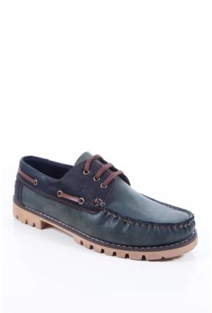 Shoes&Moda 509-2017-2015 Yeşil Erkek Ayakkabı