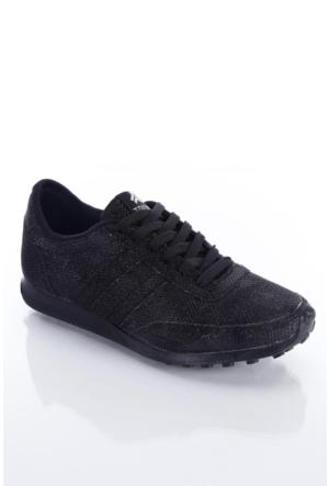 Trione 509-3517-1001 Siyah Sim Kadın Spor Ayakkabı