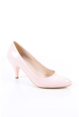 Shoes&Moda 509-1017-1011 Pudra Rugan Stiletto