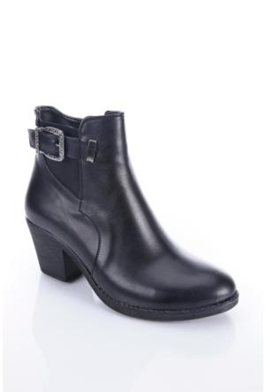 Shoes&Moda 509-1117-0965 Siyah Kadın Bot