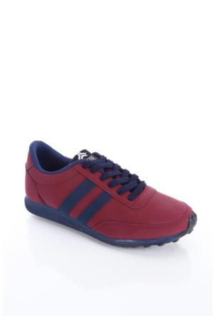 Trione 509-3517-1001 Bordo-Lacivert Kadın Spor Ayakkabı