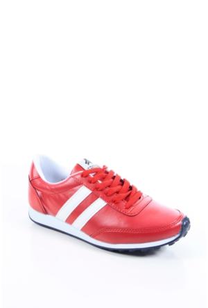 Trione 509-3517-1001 Kırmızı-Beyaz Kadın Spor Ayakkabı