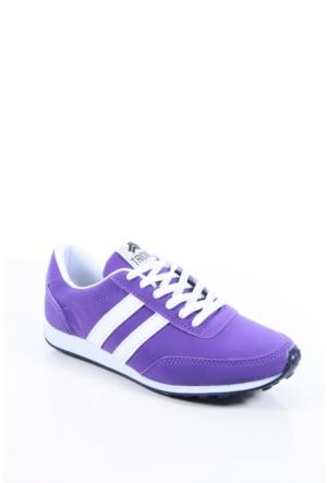 Trione 509-3517-1001 Mor-Beyaz Kadın Spor Ayakkabı