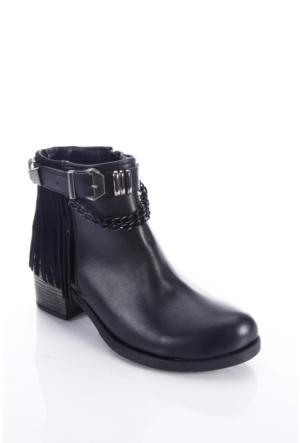 Shoes&Moda 509-6717-0051 Siyah Kadın Bot