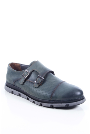 Shoes&Moda 509-2017-13 Yeşil Erkek Ayakkabı