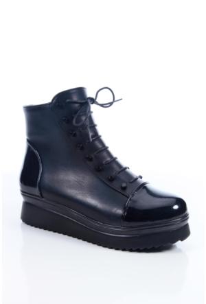 Shoes&Moda 509-1117-0700 Siyah Kadın Bot