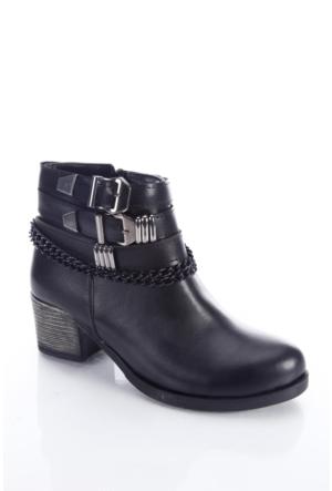 Shoes&Moda 509-6717-0050 Siyah Kadın Bot