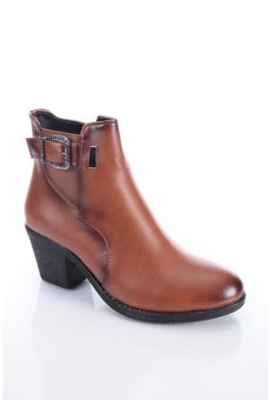 Shoes&Moda 509-1117-0965 Taba Kadın Bot