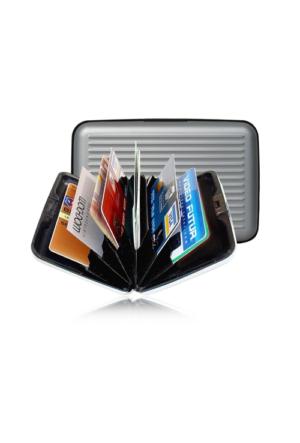 Pratik Alüminyum Kredi Kartlık Cüzdan