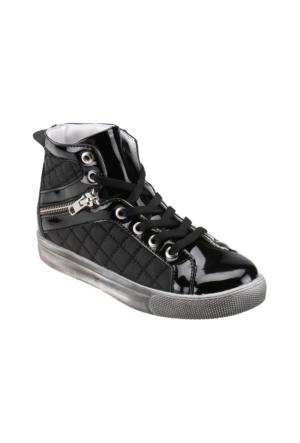 Seventeen Ga220 Siyah Kız Çocuk Sneaker