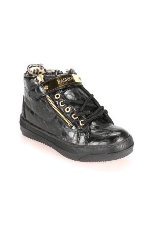 Seventeen G210 Siyah Kız Çocuk Ayakkabı