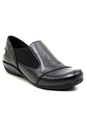 Mammamia 360 Deri Kadın Ayakkabı