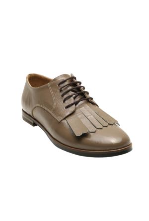 Yargıcı Rugan Deri Ayakkabı