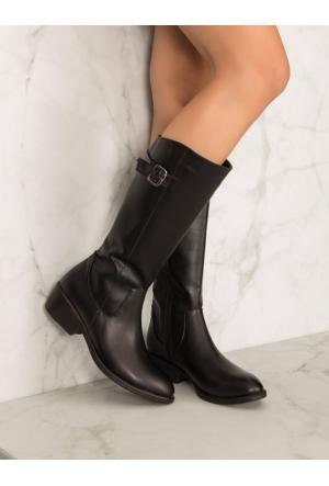 Mecrea Exclusive Claire Siyah Çizme