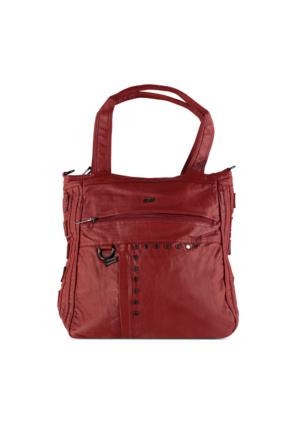 Marjin Zenas Günlük Çanta Kırmızı