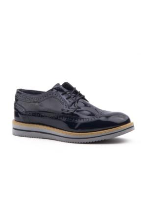 Forza 1118 Rugan Bağcıklı Erkek Çocuk Klasik Günlük Ayakkabı