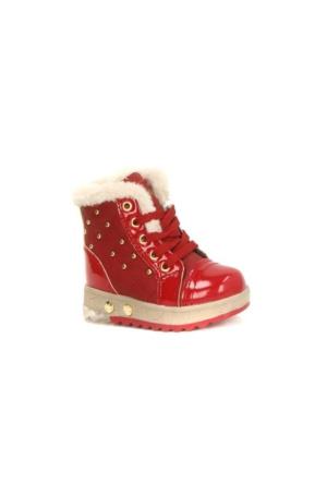 Twingo 2565 İçi Termal Kürklü Işıklı Kız Çoçuk Bot Ayakkabı