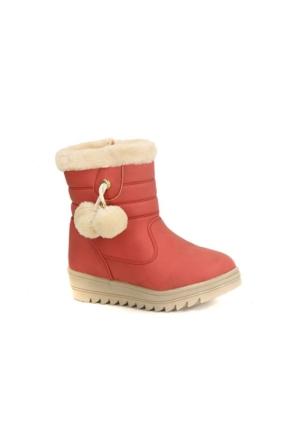 Twingo 9010 İçi Termal Kürklü Kız Çocuk Kışlık Bot Ayakkabı