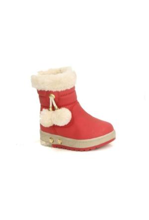 Twingo 9010 İçi Termal Kürklü Işıklı Kız Çoçuk Kışlık Bot Ayakkabı