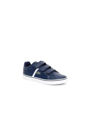 Lacoste Fairlead 316 1 Çocuk Lacivert Sneakers Ayakkabı 732Spc0110.003
