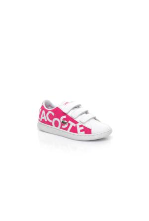 Lacoste Carnaby Evo 117 1 Çocuk Pembe Sneakers Ayakkabı 733Spc1000.F50